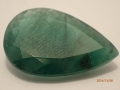 (41) emerald 9.35 ct 21x14 pear sent $1,870