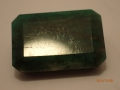 (42) emerald 13.6 ct 19x13 sent $2,720